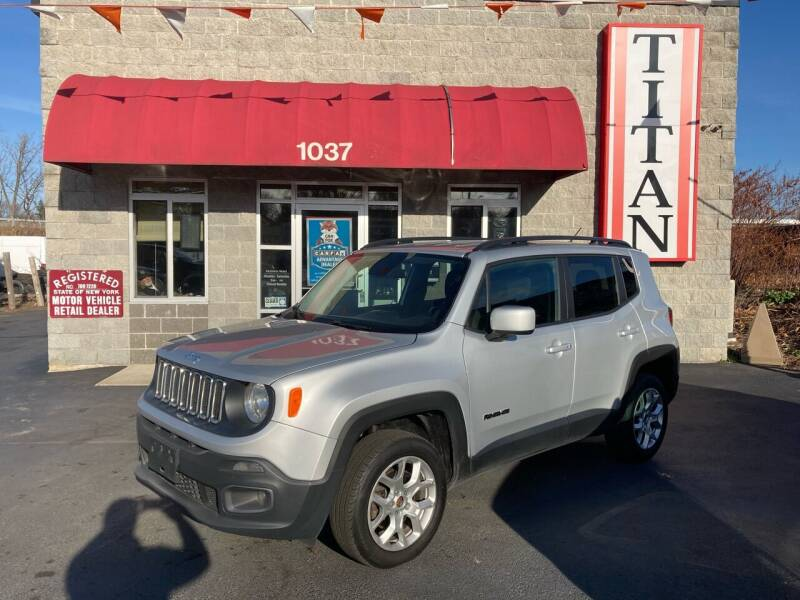 2016 Jeep Renegade for sale at Titan Auto Sales LLC in Albany NY