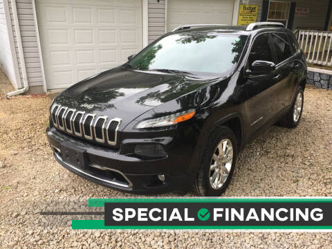 2015 Jeep Cherokee for sale at Budget Auto Sales in Bonne Terre MO