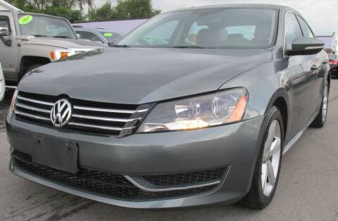 2012 Volkswagen Passat for sale at Express Auto Sales in Lexington KY