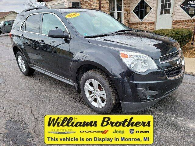 2015 Chevrolet Equinox for sale at Williams Brothers - Pre-Owned Monroe in Monroe MI