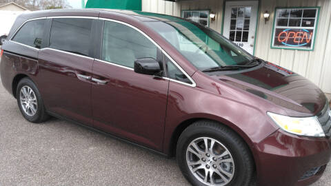 2011 Honda Odyssey for sale at Haigler Motors Inc in Tyler TX