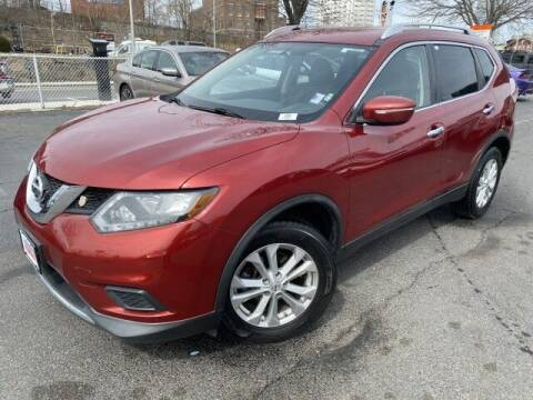 2015 Nissan Rogue for sale at Sonias Auto Sales in Worcester MA