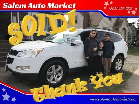 2010 Chevrolet Traverse for sale at Salem Auto Market in Salem OR