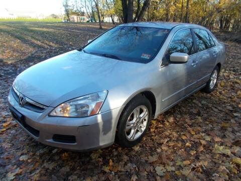 2007 Honda Accord for sale at Mercury Auto Sales in Woodland Park NJ