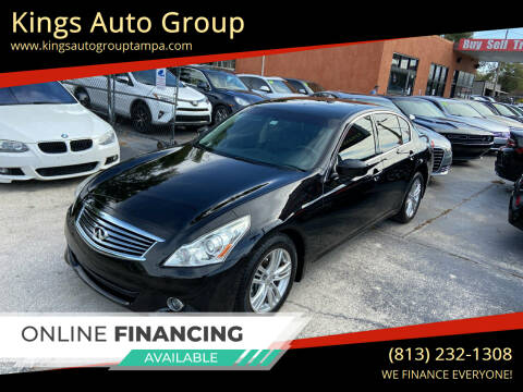 2013 Infiniti G37 Sedan for sale at Kings Auto Group in Tampa FL