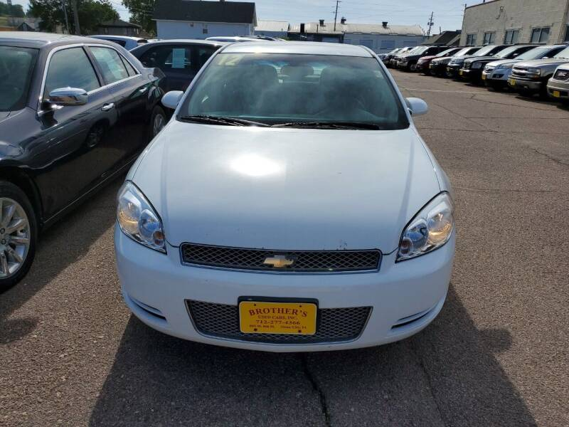 2012 Chevrolet Impala for sale at Brothers Used Cars Inc in Sioux City IA