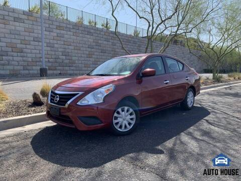 2018 Nissan Versa for sale at AUTO HOUSE TEMPE in Tempe AZ