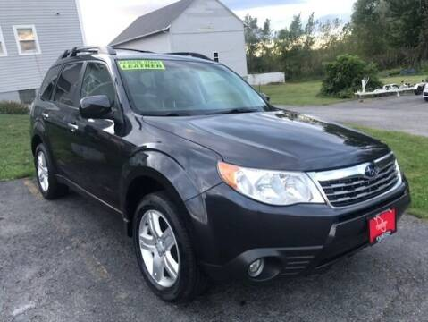 2009 Subaru Forester for sale at FUSION AUTO SALES in Spencerport NY