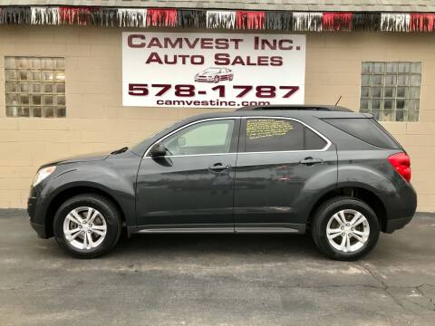 2013 Chevrolet Equinox for sale at Camvest Inc. Auto Sales in Depew NY