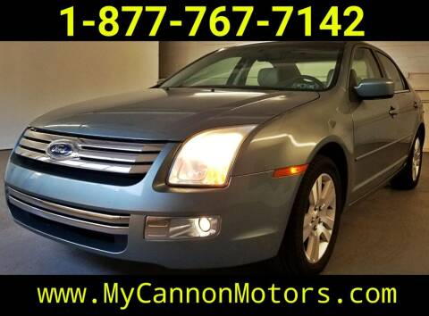 2006 Ford Fusion for sale at Cannon Motors in Silverdale PA