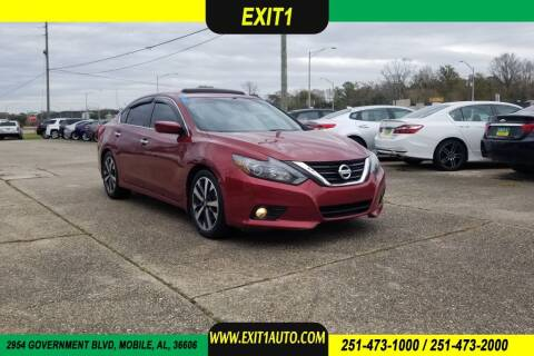 2016 Nissan Altima for sale at Exit 1 Auto in Mobile AL