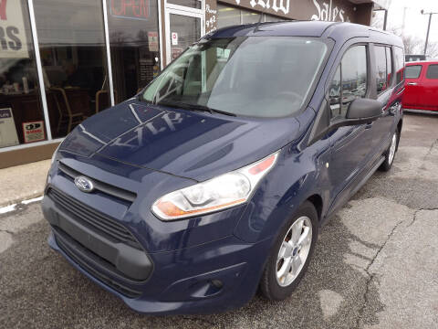 2014 Ford Transit Connect Wagon for sale at Arko Auto Sales in Eastlake OH