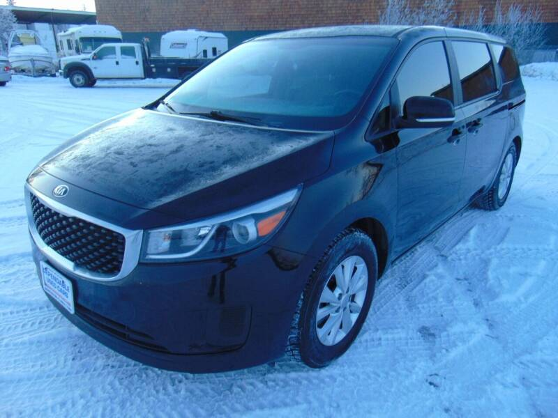 2015 Kia Sedona for sale at Dependable Used Cars in Anchorage AK