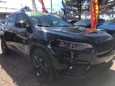 2019 Jeep Cherokee for sale at Duke City Auto LLC in Gallup NM