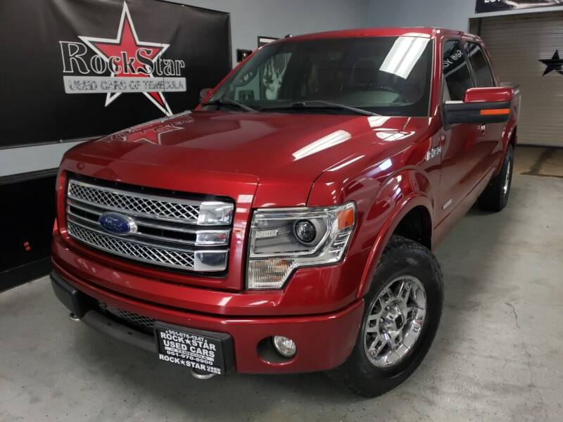 2013 Ford F-150 for sale at ROCKSTAR USED CARS OF TEMECULA in Temecula CA