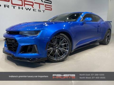 2018 Chevrolet Camaro for sale at Fishers Imports in Fishers IN