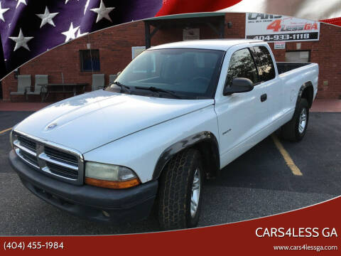 2002 Dodge Dakota for sale at Cars4Less GA in Alpharetta GA