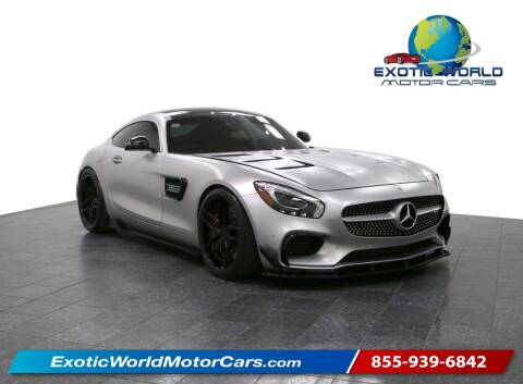 2016 Mercedes-Benz AMG GT for sale at Exotic World Motor Cars in Addison TX
