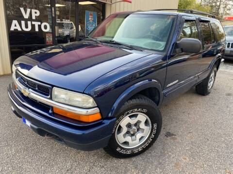 2002 Chevrolet Blazer for sale at VP Auto in Greenville SC