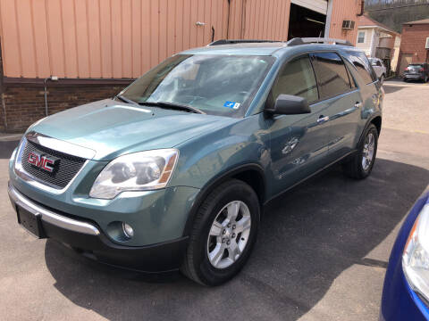 2010 GMC Acadia for sale at STEEL TOWN PRE OWNED AUTO SALES in Weirton WV