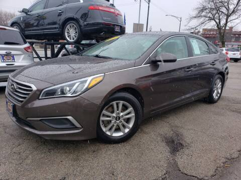 2017 Hyundai Sonata for sale at AutoBank in Chicago IL