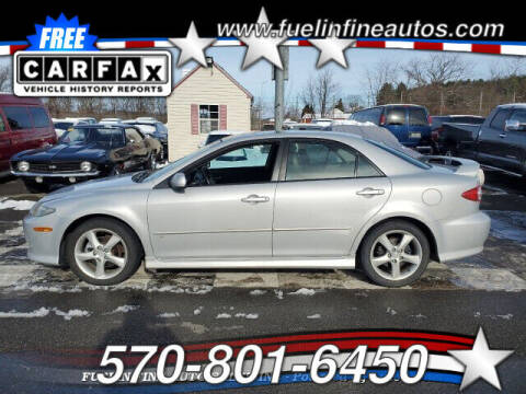 2003 Mazda MAZDA6 for sale at FUELIN FINE AUTO SALES INC in Saylorsburg PA