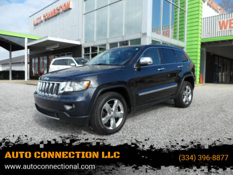 2012 Jeep Grand Cherokee for sale at AUTO CONNECTION LLC in Montgomery AL