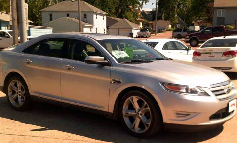 2011 Ford Taurus for sale at Alpha Auto - Mitchell in Mitchel SD