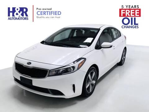 2018 Kia Forte for sale at H&R Auto Motors in San Antonio TX