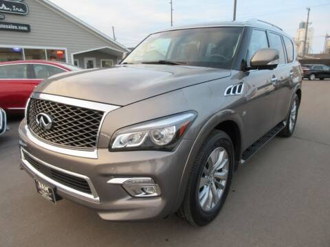 2016 Infiniti QX80 for sale at Dam Auto Sales in Sioux City IA