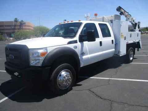 2013 Ford F-550 Super Duty for sale at Corporate Auto Wholesale in Phoenix AZ