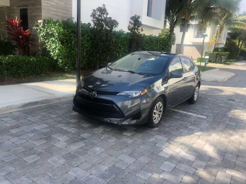 2017 Toyota Corolla for sale at CARSTRADA in Hollywood FL