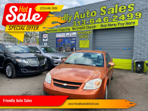 2005 Chevrolet Cobalt for sale at Friendly Auto Sales in Detroit MI