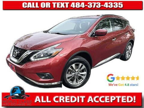 2018 Nissan Murano for sale at World Class Auto Exchange in Lansdowne PA