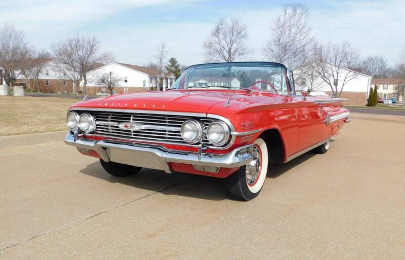 1960 Chevrolet Impala for sale at WEST PORT AUTO CENTER INC in Fenton MO