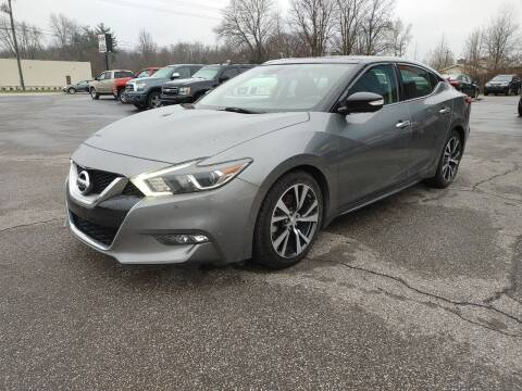 2016 Nissan Maxima for sale at Cruisin' Auto Sales in Madison IN