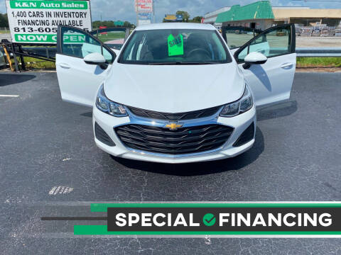 2019 Chevrolet Cruze for sale at K&N Auto Sales in Tampa FL