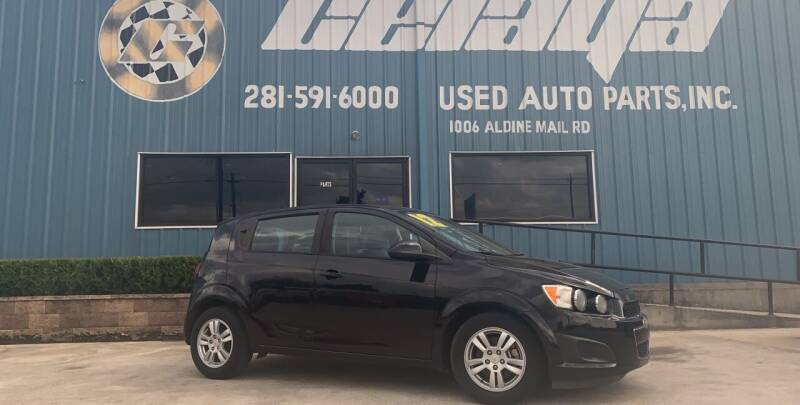 2012 Chevrolet Sonic for sale at CELAYA AUTO SALES INC in Houston TX