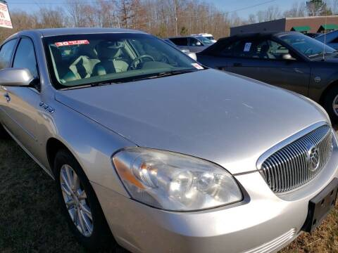 2009 Buick Lucerne for sale at Scarletts Cars in Camden TN