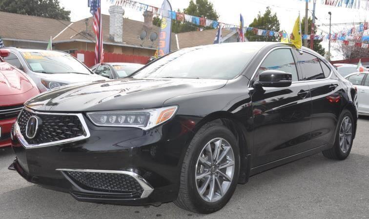 2019 Acura TLX for sale at AMC Auto Sales Inc in San Jose CA