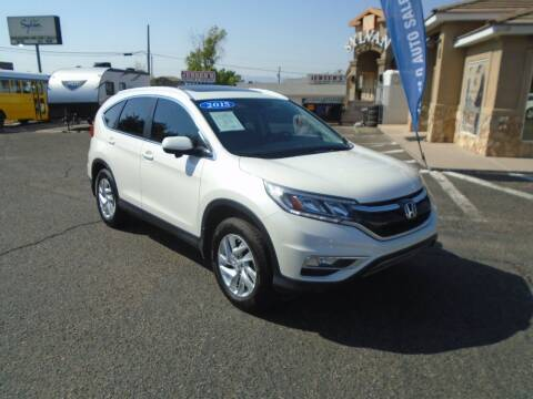 2015 Honda CR-V for sale at Team D Auto Sales in Saint George UT