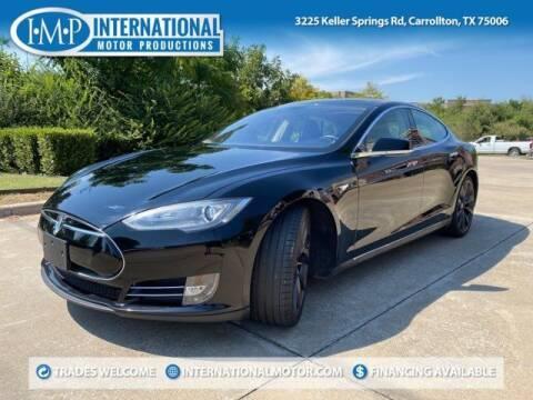 2013 Tesla Model S for sale at International Motor Productions in Carrollton TX