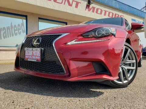 2014 Lexus IS 350 for sale at Discount Motors in Pueblo CO