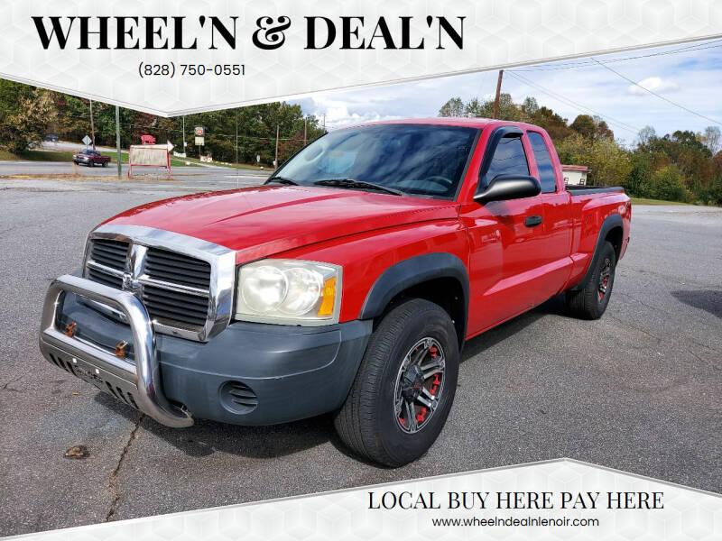 2005 Dodge Dakota for sale at Wheel'n & Deal'n in Lenoir NC