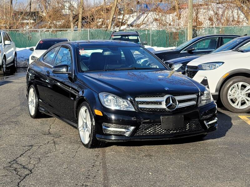 2012 Mercedes-Benz C-Class for sale at AW Auto & Truck Wholesalers  Inc. in Hasbrouck Heights NJ