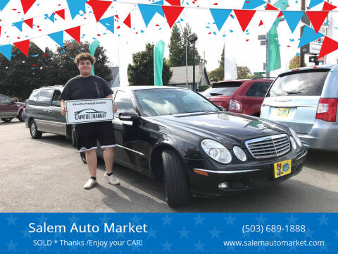 2006 Mercedes-Benz E-Class for sale at Salem Auto Market in Salem OR
