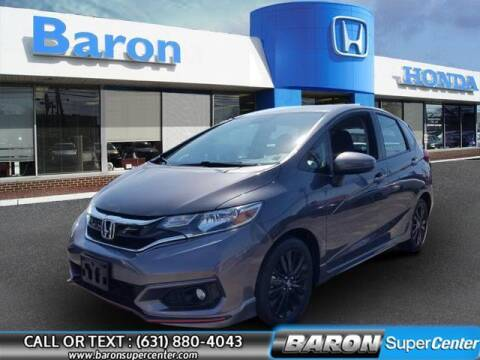 2018 Honda Fit for sale at Baron Super Center in Patchogue NY