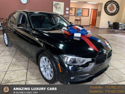 2018 BMW 3 Series for sale at Amazing Luxury Cars in Snellville GA