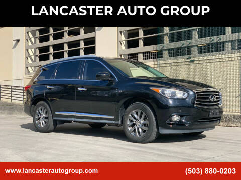 2014 Infiniti QX60 for sale at LANCASTER AUTO GROUP in Portland OR