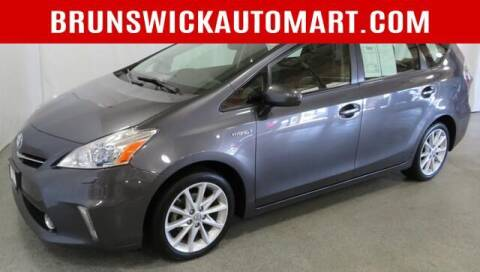 2012 Toyota Prius v for sale at Brunswick Auto Mart in Brunswick OH